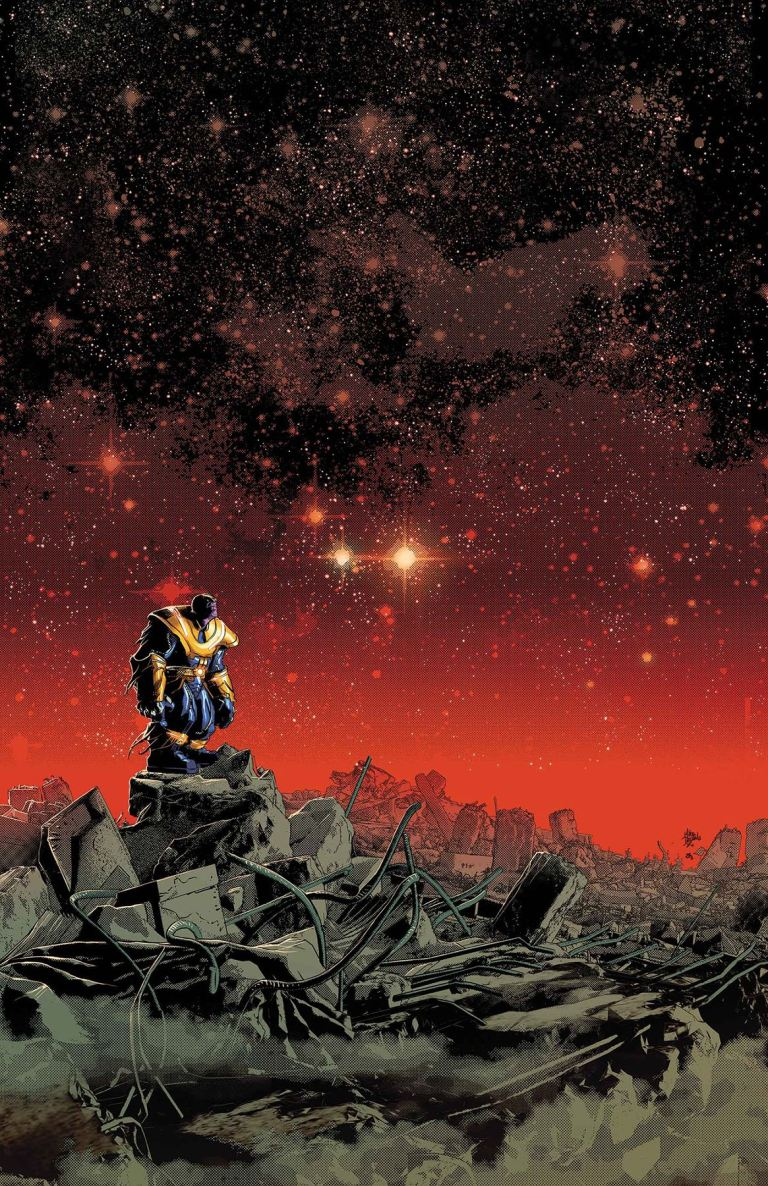 Thanos #7 (Mike Deodato Jr. Cover)
