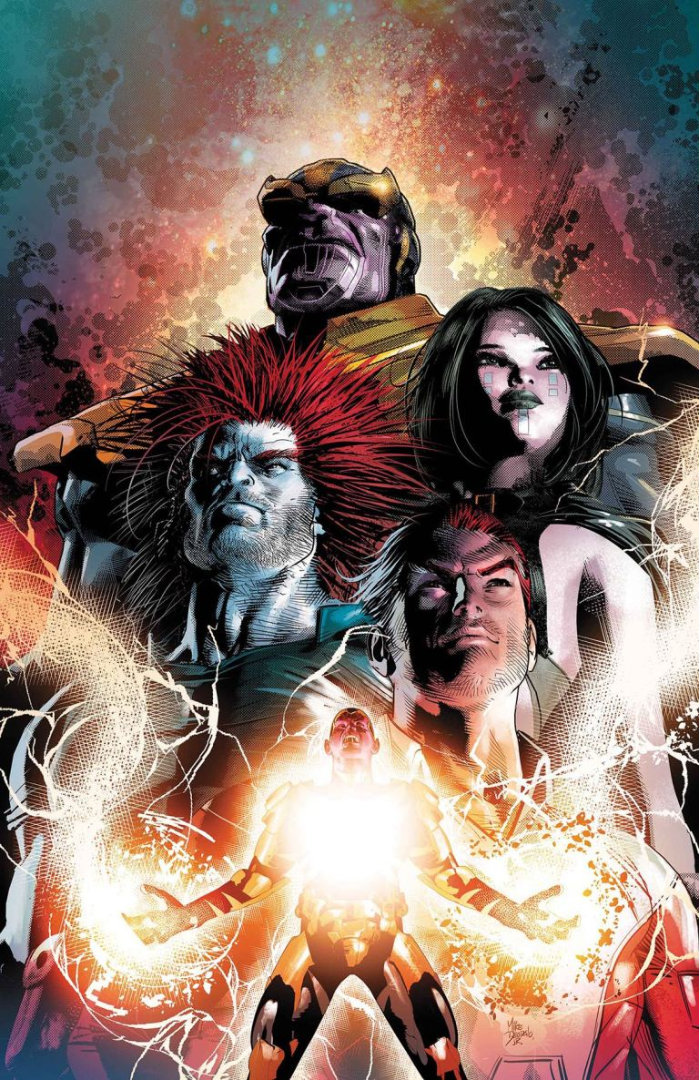 Thanos #8 (Mike Deodato Jr. Cover)