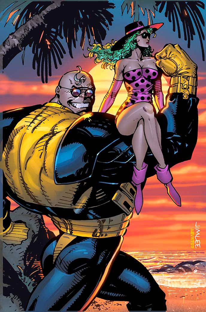 Thanos #9 (Cover B Jim Lee X-Men Trading Card Variant)