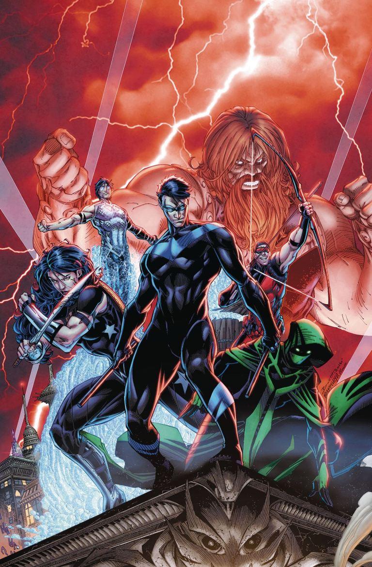 Titans #1 (Cover A Brett Booth & Norm Rapmund)