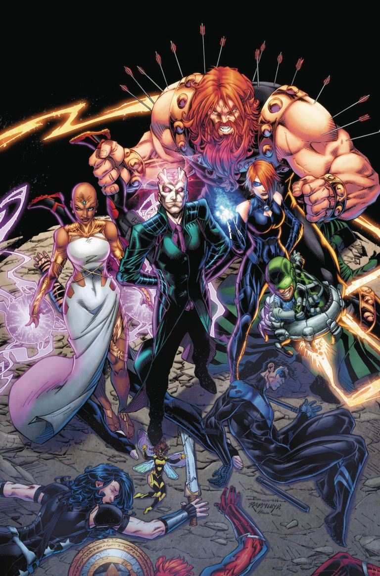 Titans #10 (Cover A Brett Booth & Norm Rapmund)