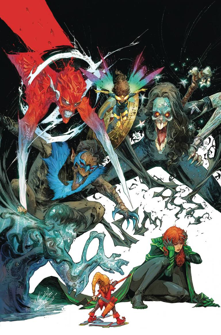 Titans #12 (Cover A Kenneth Rocafort)