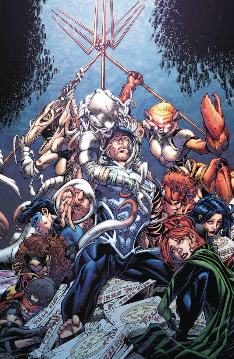 Titans #14 (Cover A Brett Booth & Norm Rapmund)