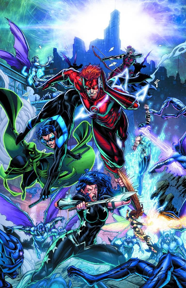 Titans #4 (Cover A Brett Booth & Norm Rapmund)