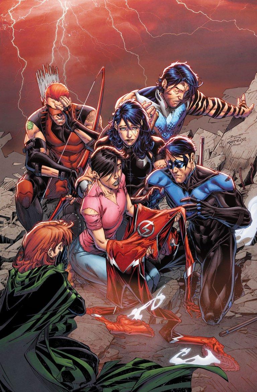 Titans #6 (Cover A Brett Booth & Norm Rapmund)