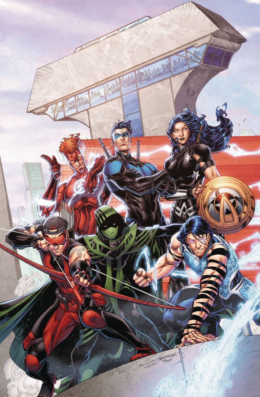 Titans #8 (Cover A Brett Booth & Norm Rapmund)