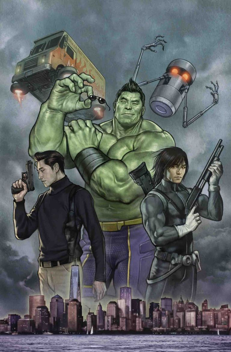 Totally Awesome Hulk #17 (Stonehouse Regular Cover)