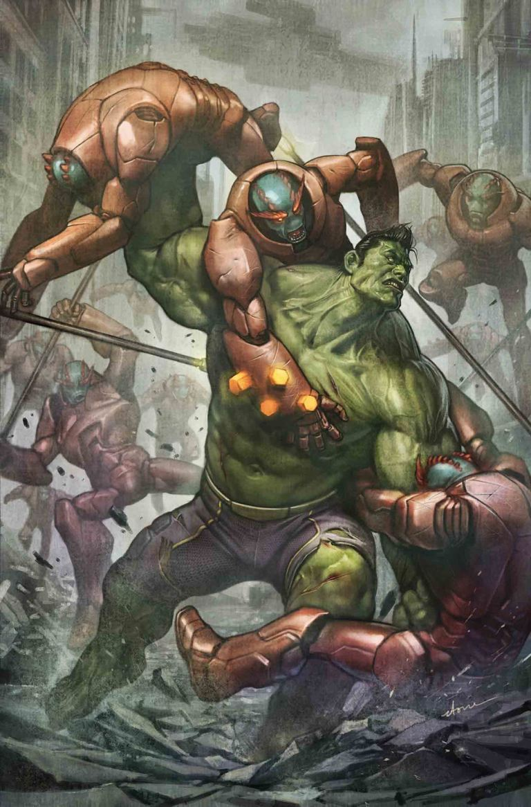 Totally Awesome Hulk #18 (Stonehouse Cover)