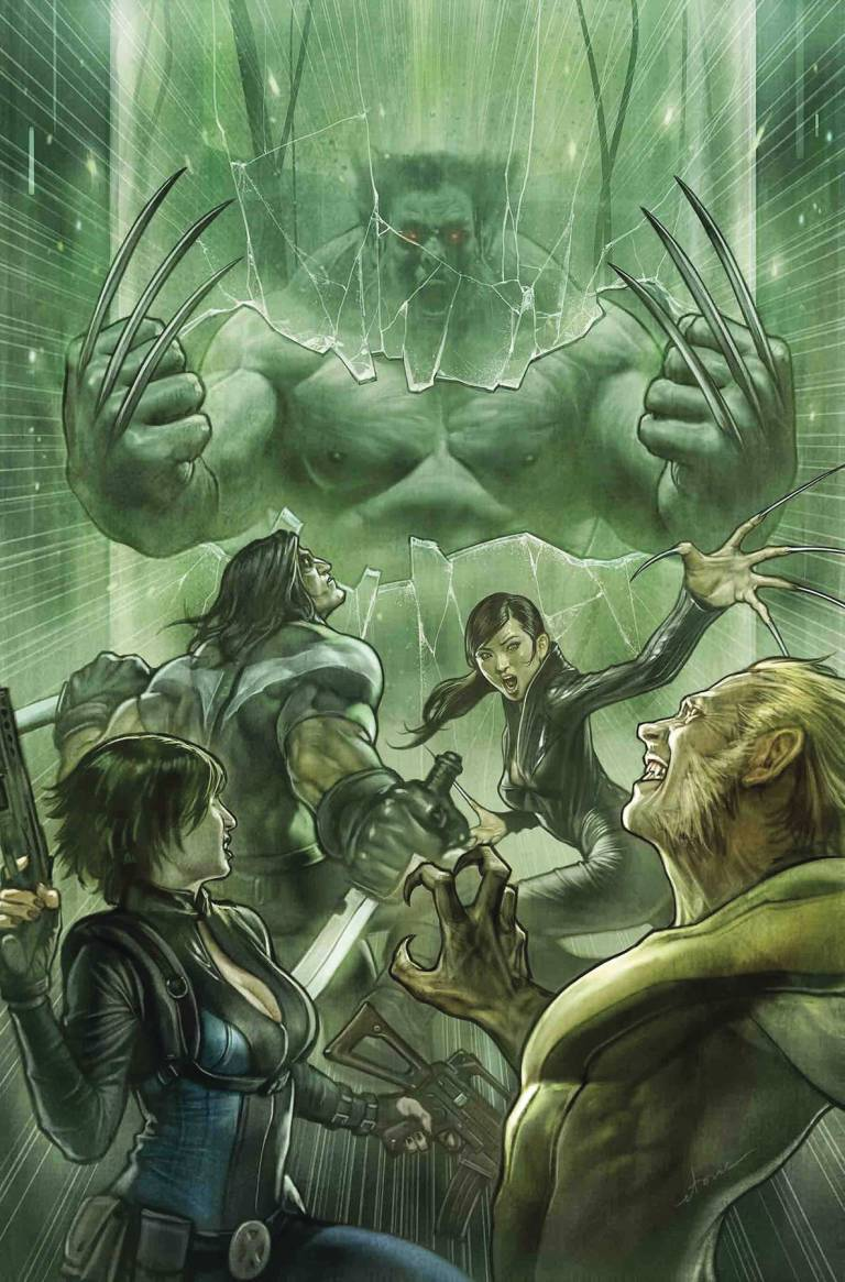 Totally Awesome Hulk #22 (Stonehouse Cover)