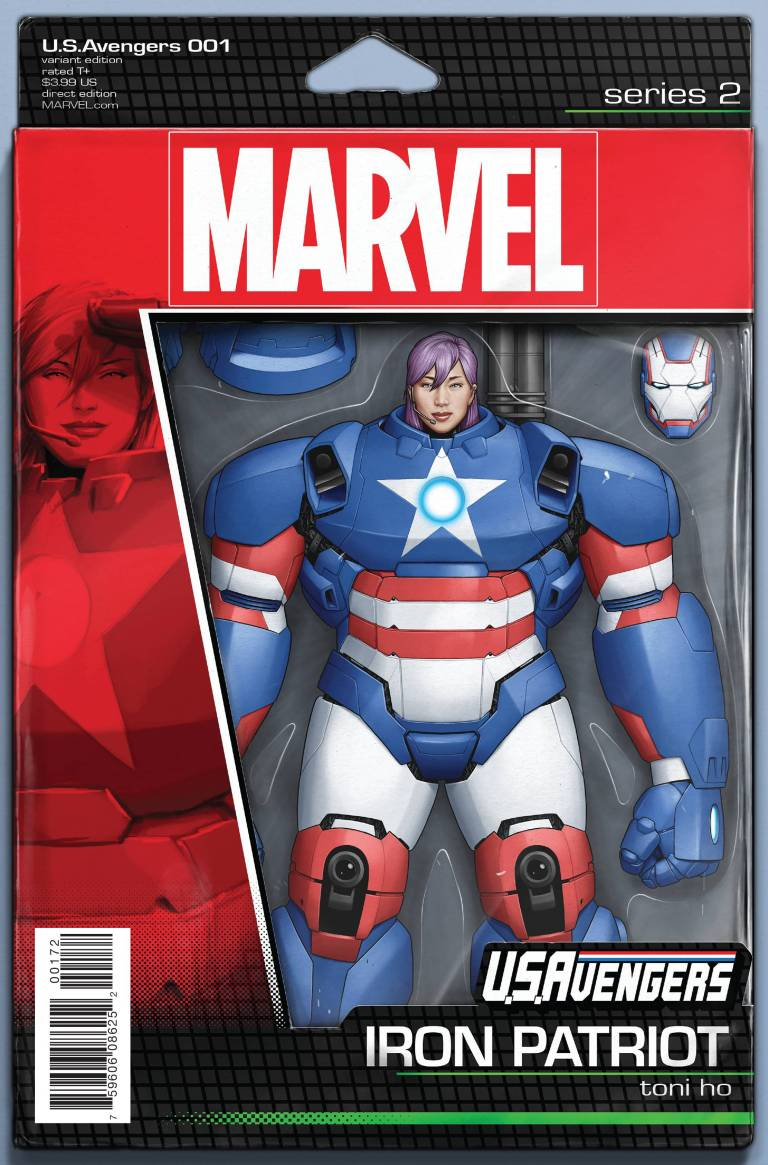 U.S.Avengers #1 (John Tyler Christopher Action Figure Variant Cover)