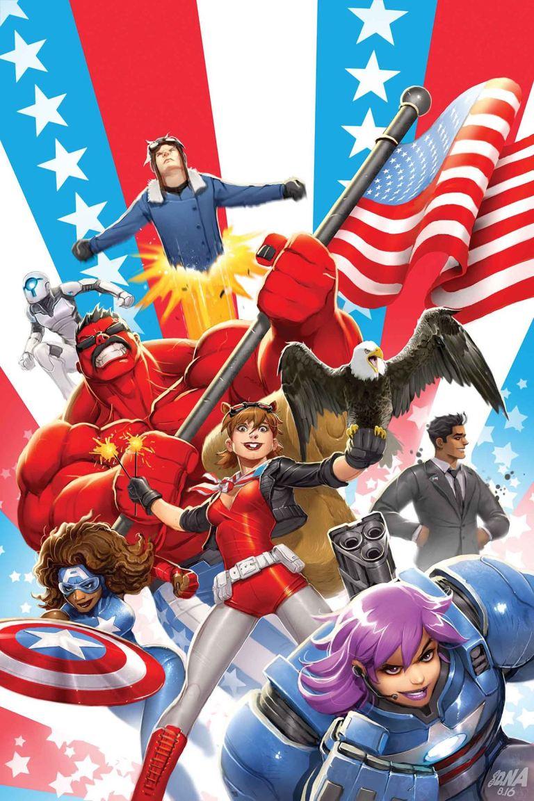 U.S.Avengers #2 (David Nakayama Variant Cover)