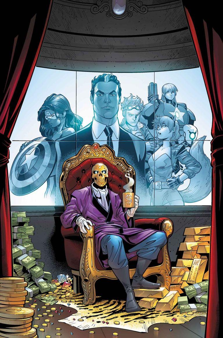 U.S.Avengers #2 (Paco Medina Regular Cover)