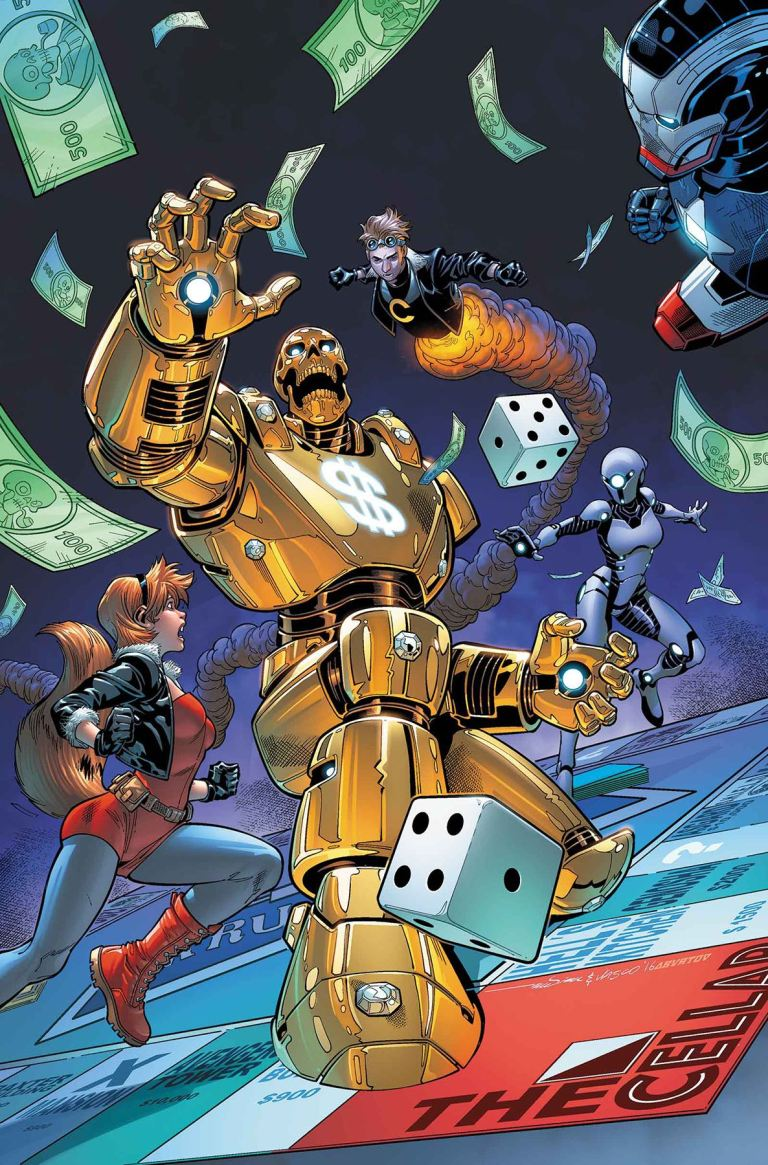 U.S.Avengers #3 (Paco Medina Regular Cover)