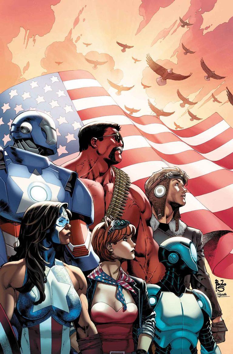 U.S.Avengers #3 (Paulo Siqueira Variant Cover)