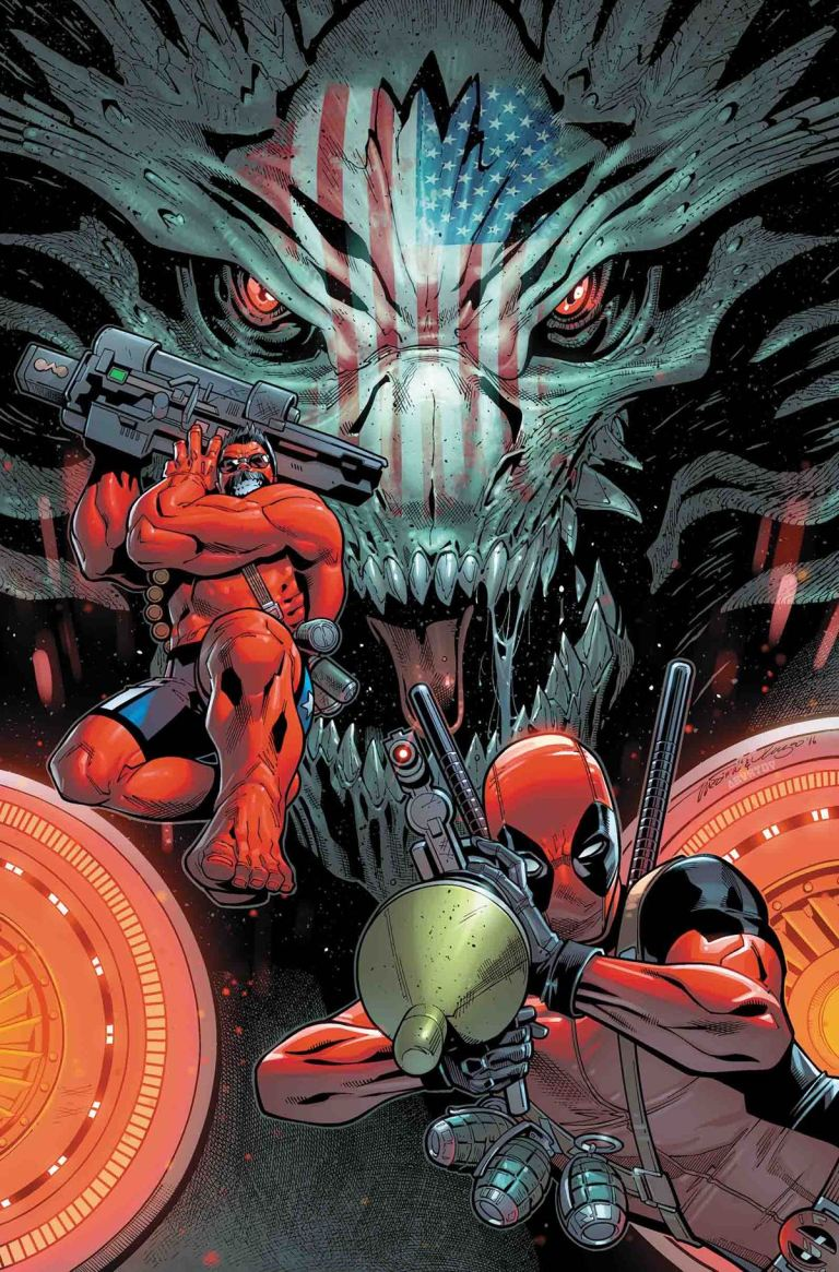 U.S.Avengers #4 (Paco Medina Cover)