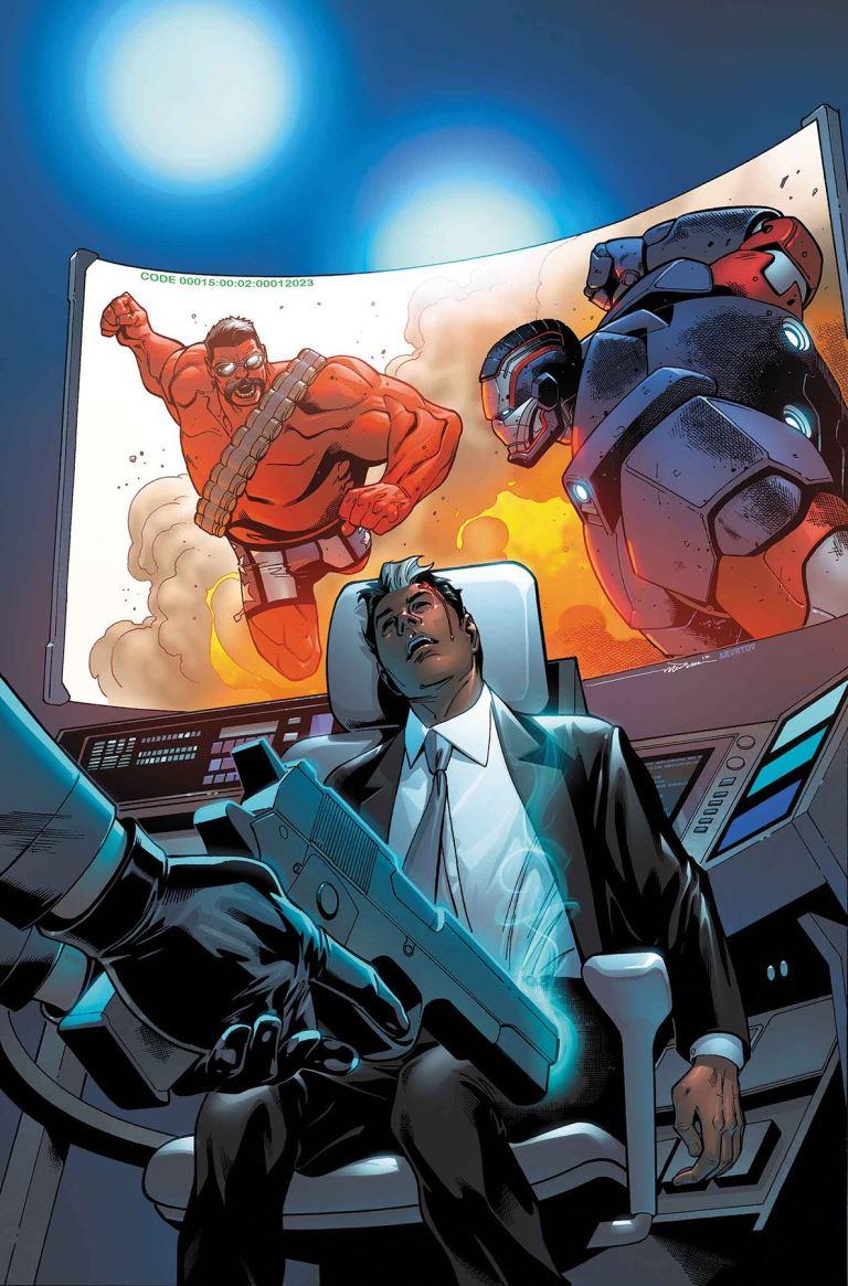 U.S.Avengers #6 (Paco Medina Cover)