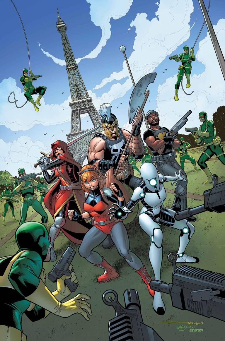 U.S.Avengers #7 (Paco Medina Cover)