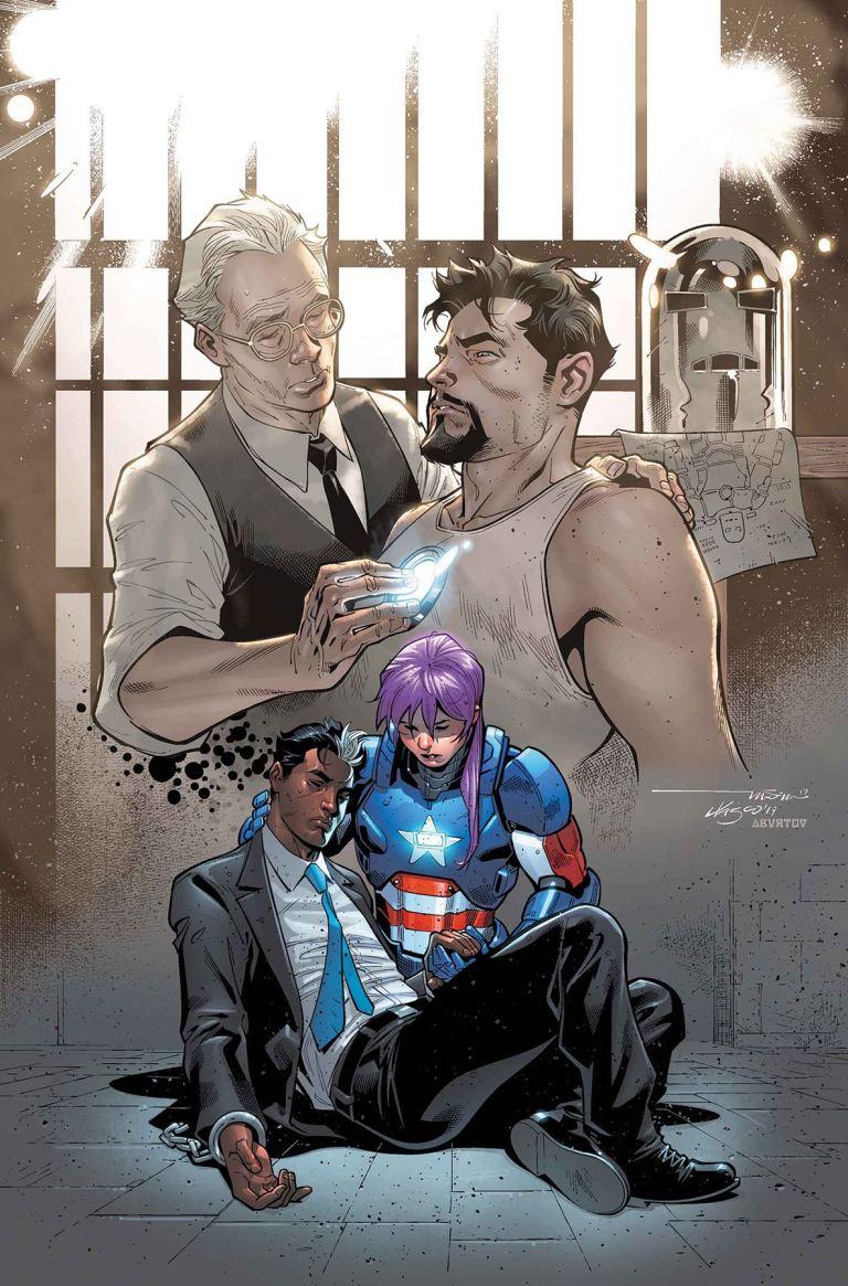 U.S.Avengers #8 (Paco Medina Cover)