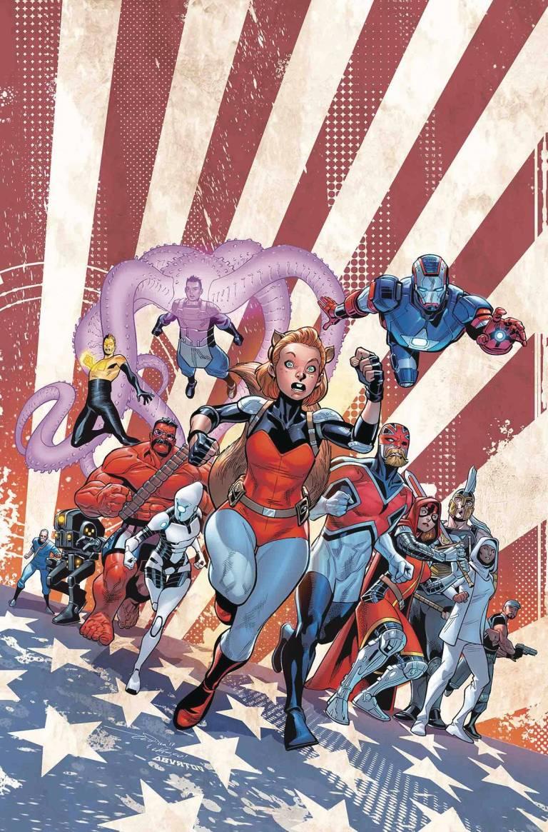 U.S.Avengers #9 (Paco Medina Cover)