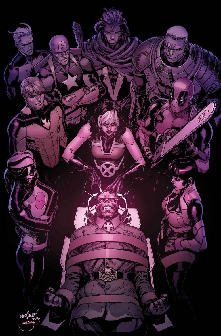 Uncanny Avengers #22 (David Marquez Cover)