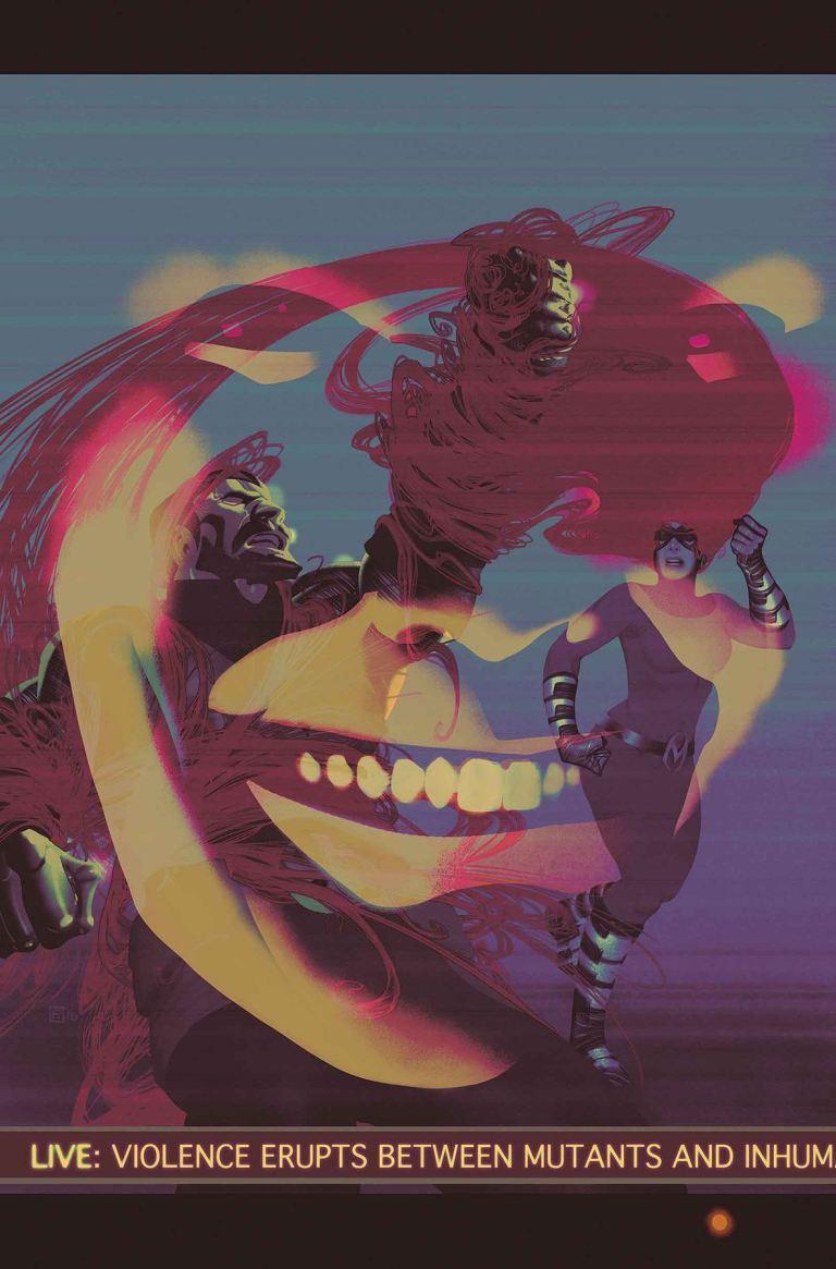 Uncanny Inhumans #18 (Frazer Irving Cover)