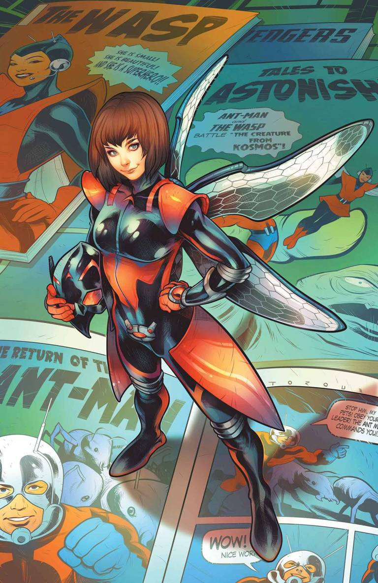 Unstoppable Wasp #1 (Elizabeth Torque Variant Cover)