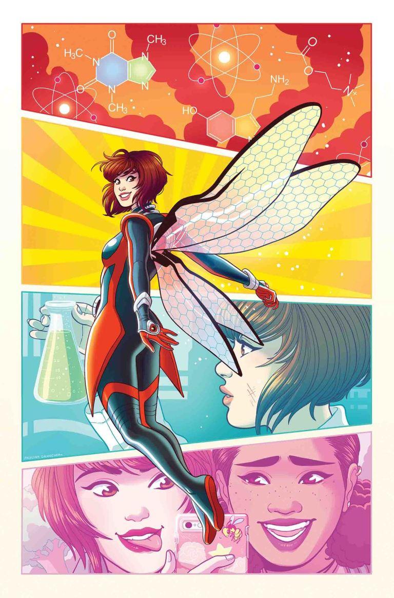 Unstoppable Wasp #3 (Paulina Ganucheau Variant Cover)