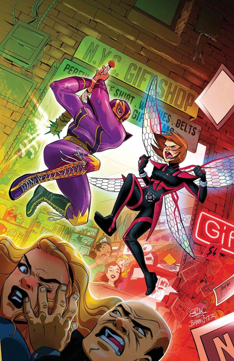 Unstoppable Wasp #4 (Elsa Charretier Cover)