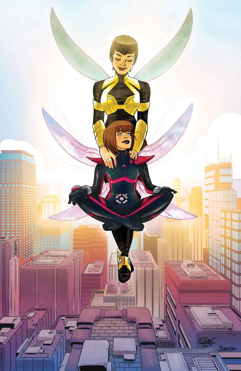 Unstoppable Wasp #7 (Elsa Charretier Cover)