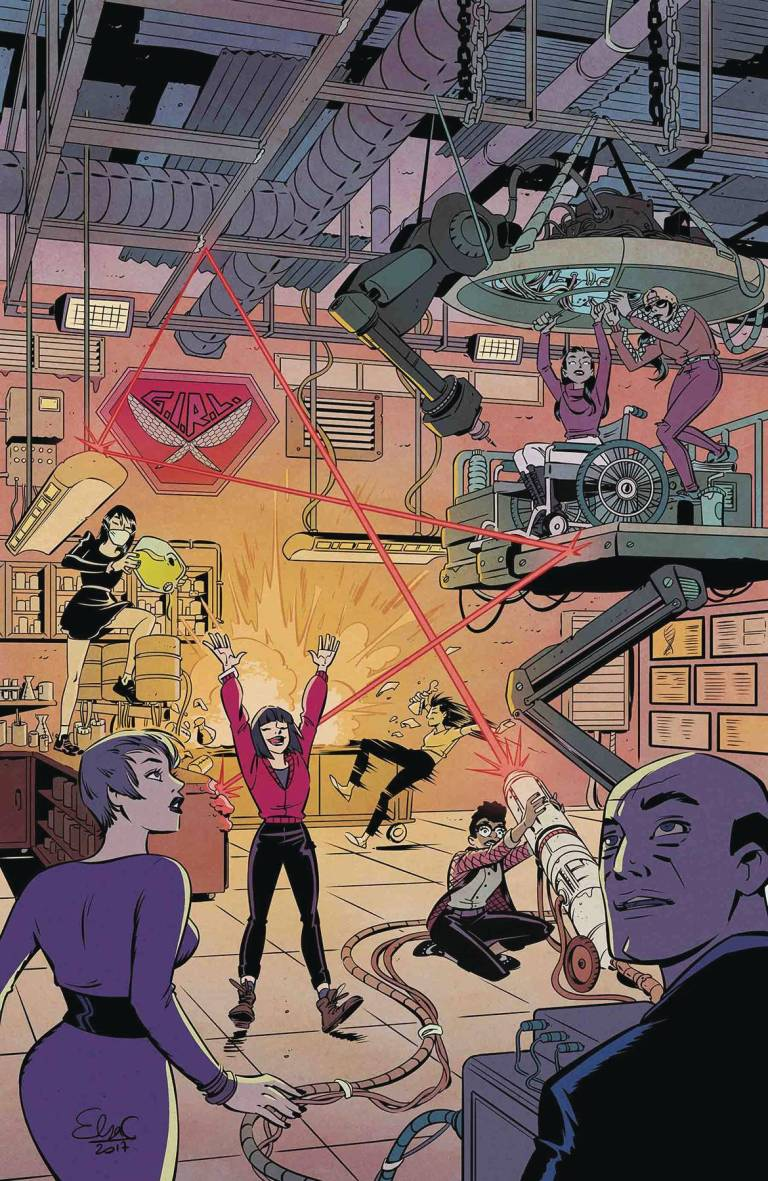 Unstoppable Wasp #8 (Elsa Charretier Cover)
