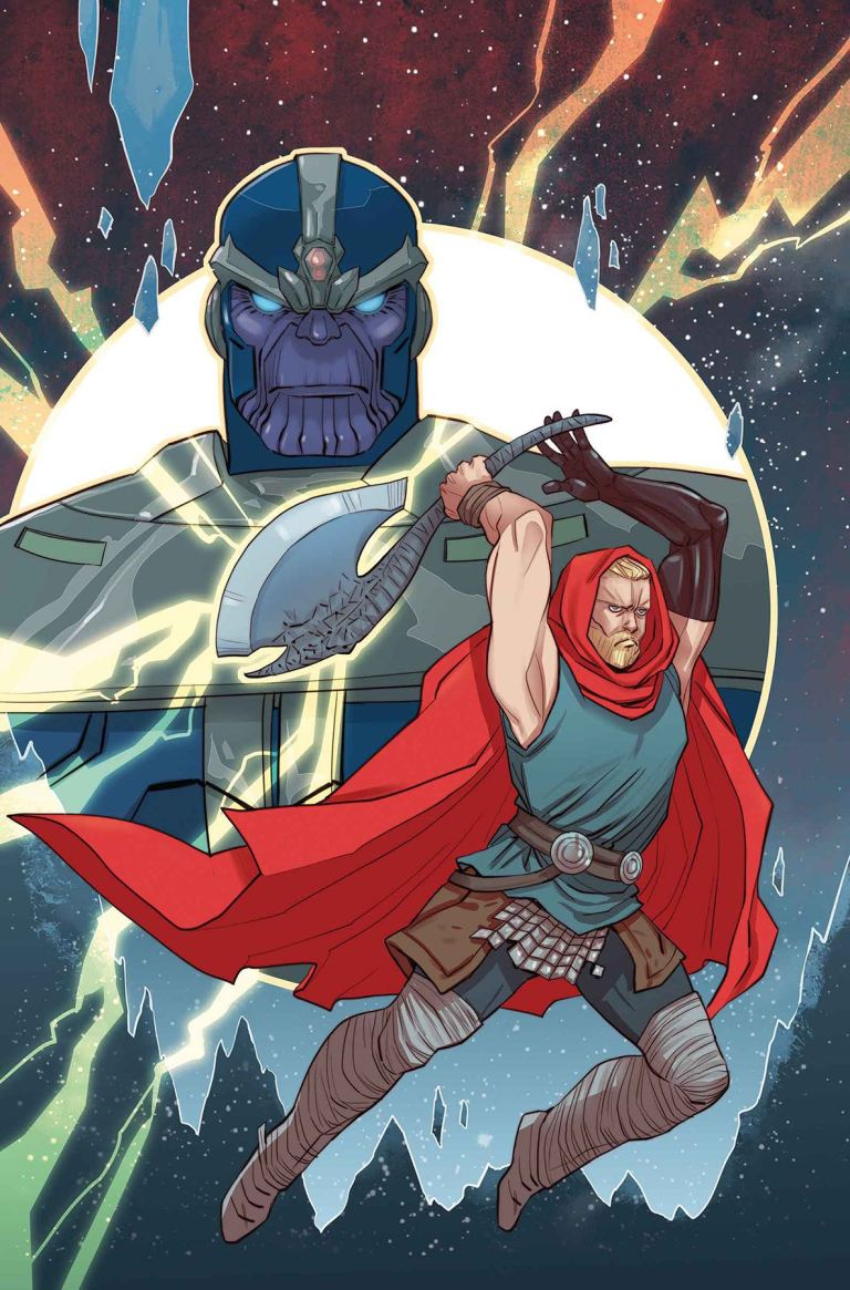 Unworthy Thor #4 (Marguerite Sauvage Variant Cover)
