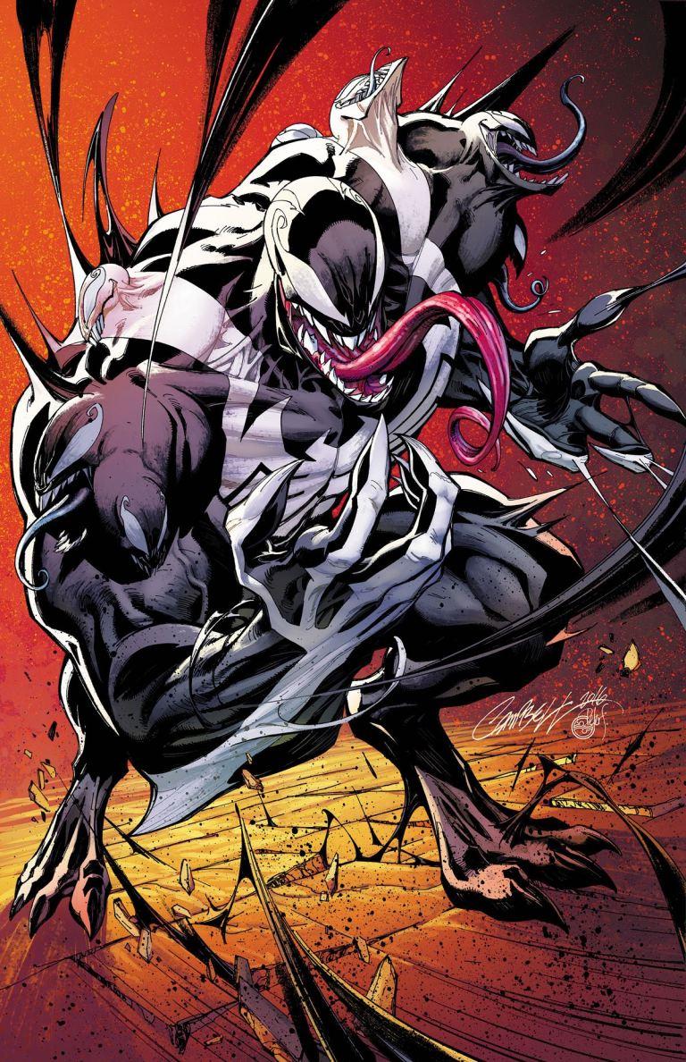 Venom #3 (J. Scott Campbell Variant Cover)