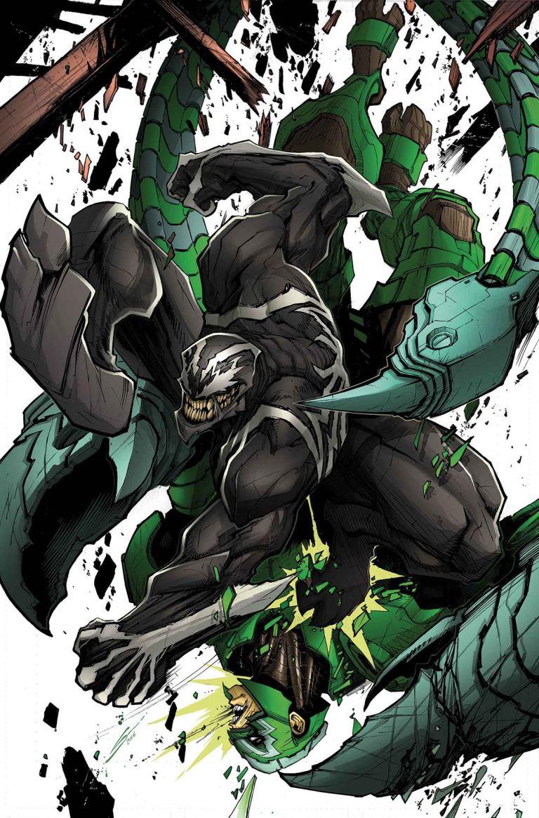 Venom #4 (Gerardo Sandoval Regular Cover)