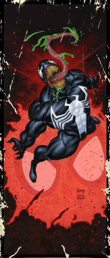 Venom #4 (Joe Jusko Corner Box Variant Cover)