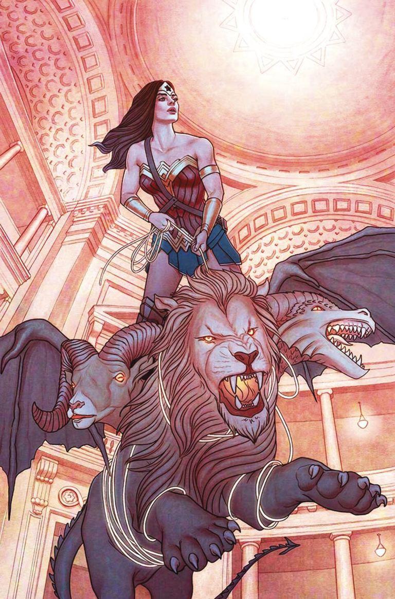 Wonder Woman #16 (Cover B Jenny Frison)