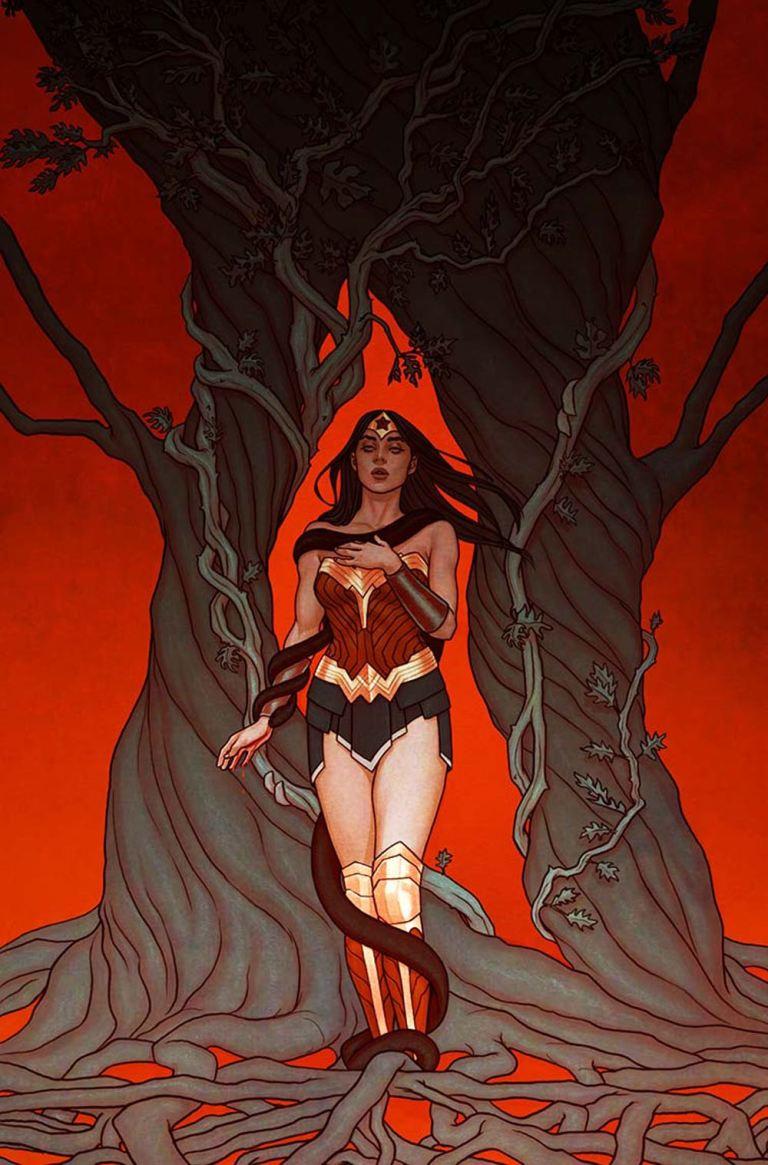 Wonder Woman #21 (Cover B Jenny Frison)