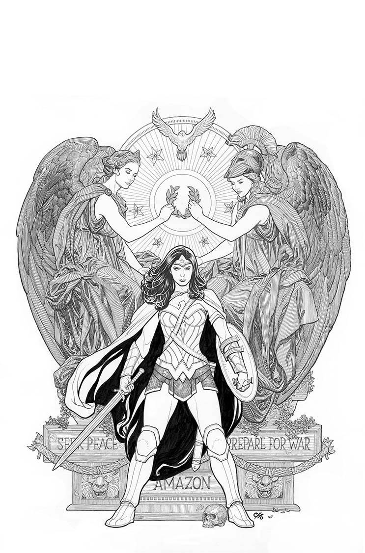Wonder Woman #4 (Cover B Frank Cho)