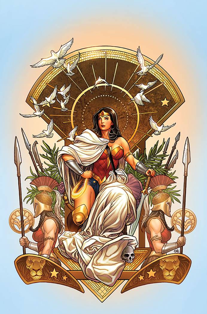 Wonder Woman #6 (Cover B Frank Cho)