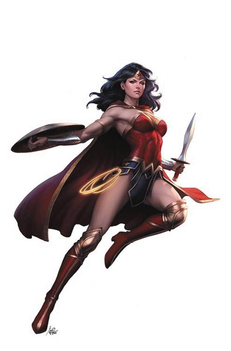 Wonder Woman Rebirth #1 (Stanley Artgerm Lau Variant Cover)