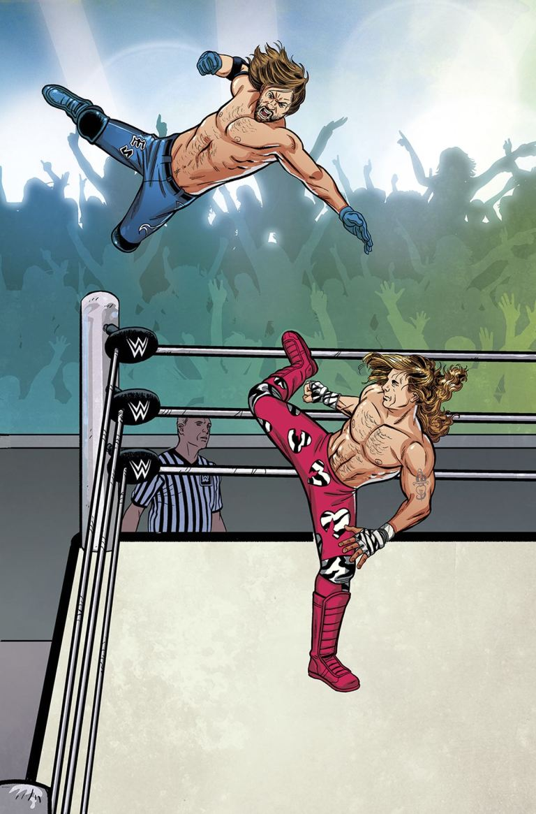 WWE #1 (Brent Schoonover Cover)