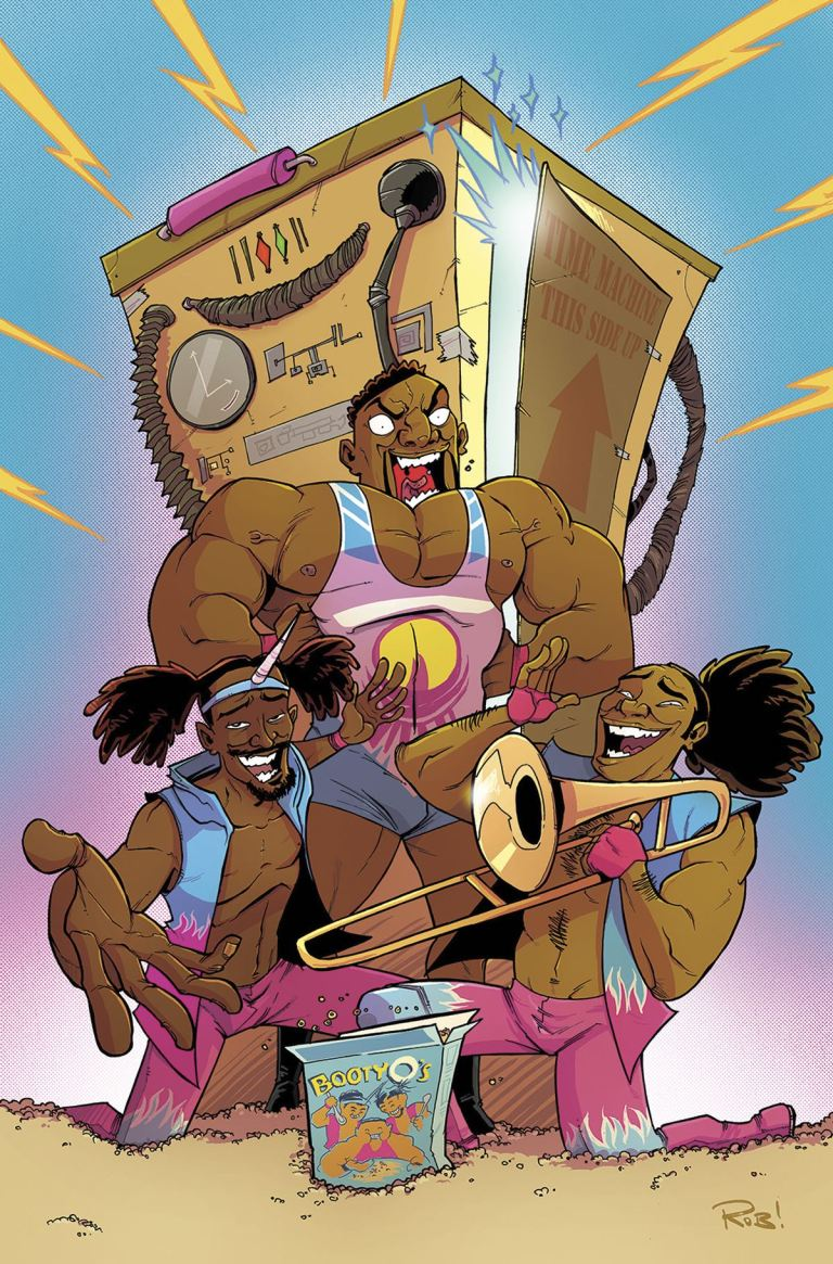 WWE #1 (Rob Guillory Cover)