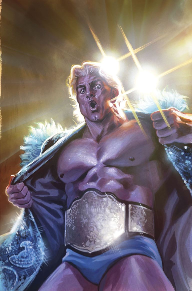 WWE #3 (Cover D Felipe Massafera Ric Flair Variant)