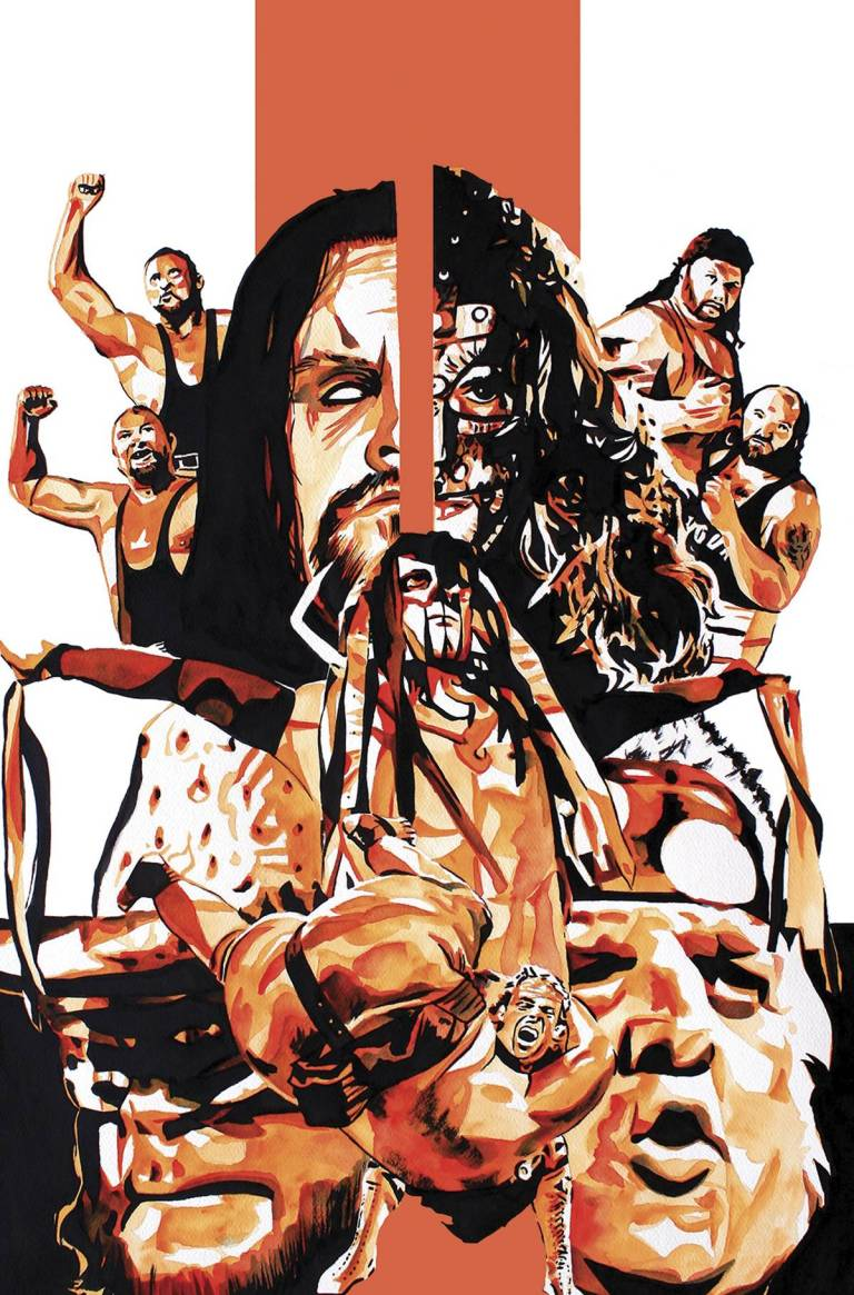 WWE Summer Slam 2017 Special #1 (Cover A Rob Schamberger)