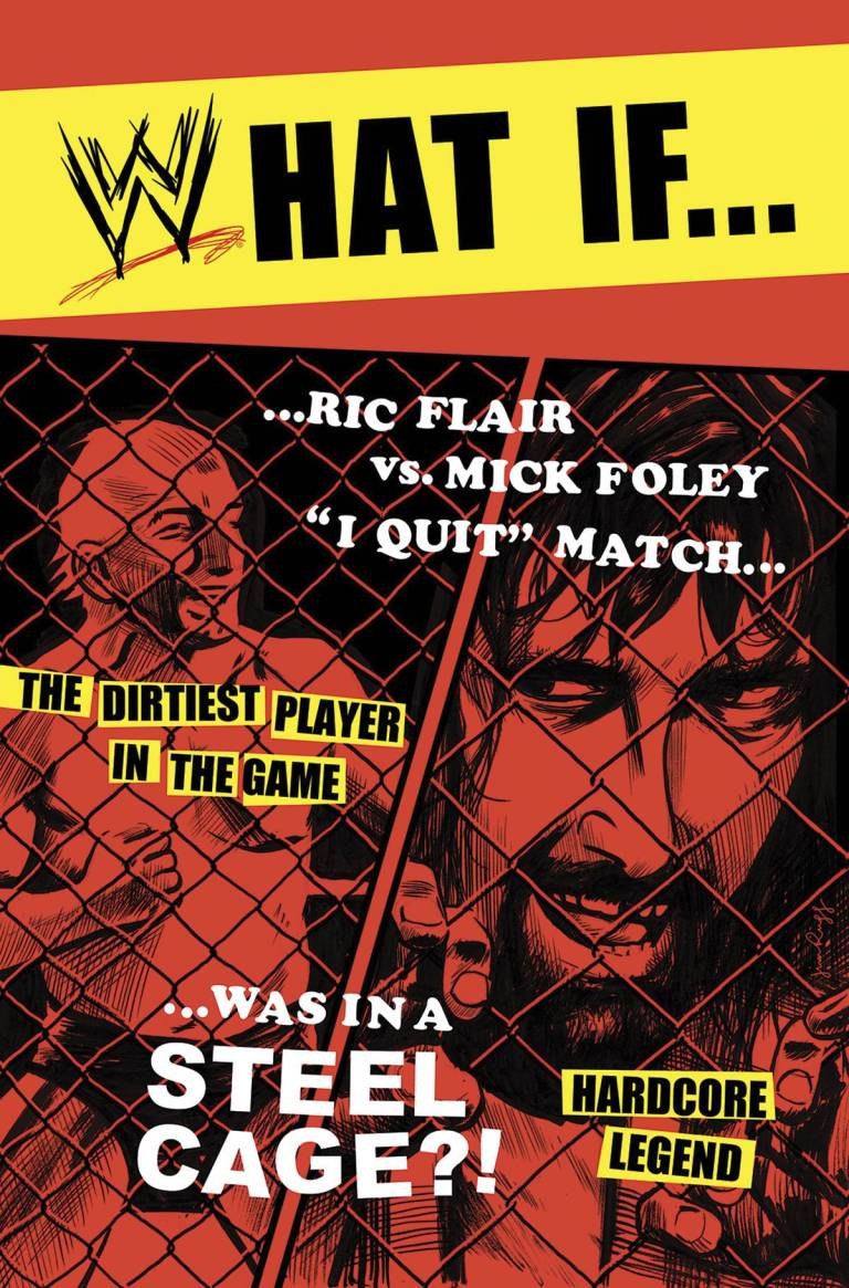 WWE Summer Slam 2017 Special #1 (Cover B Jim Rugg WWE What If Match Variant)