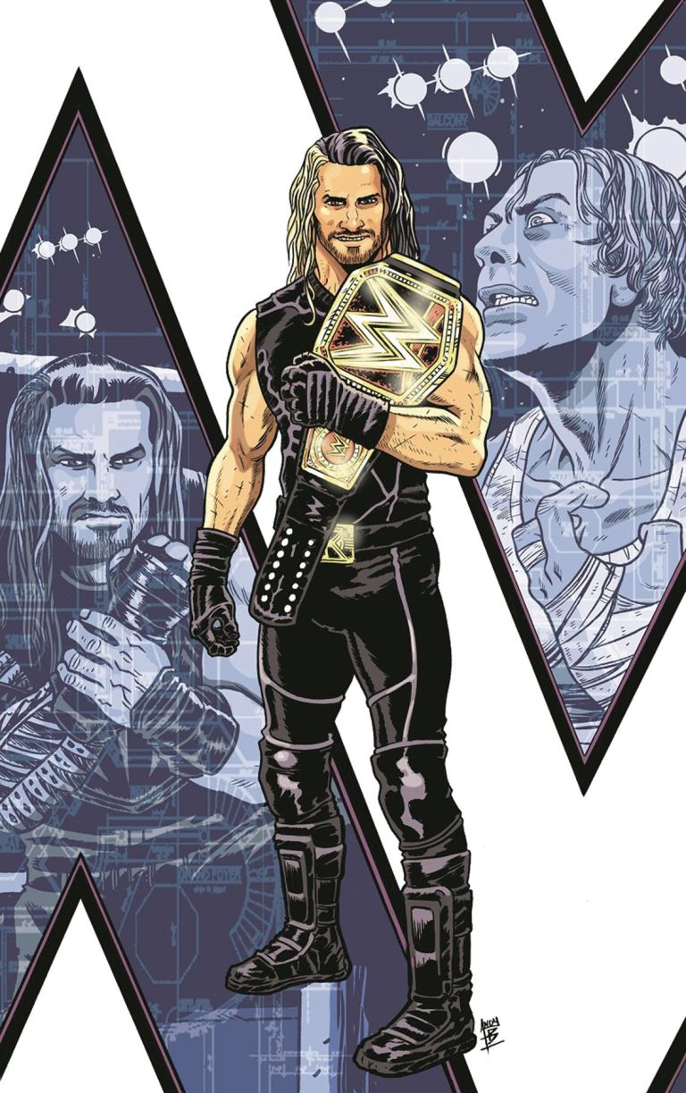WWE Then Now Forever #1 (Andy Belanger 3rd Printing Variant Cover)