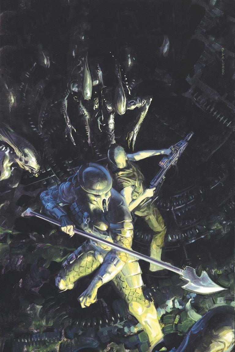 Aliens vs. Predator Life and Death #1 (Cover A David Palumbo)