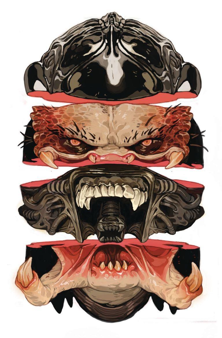 Aliens vs. Predator Life and Death #1 (Cover B Sachin Teng)