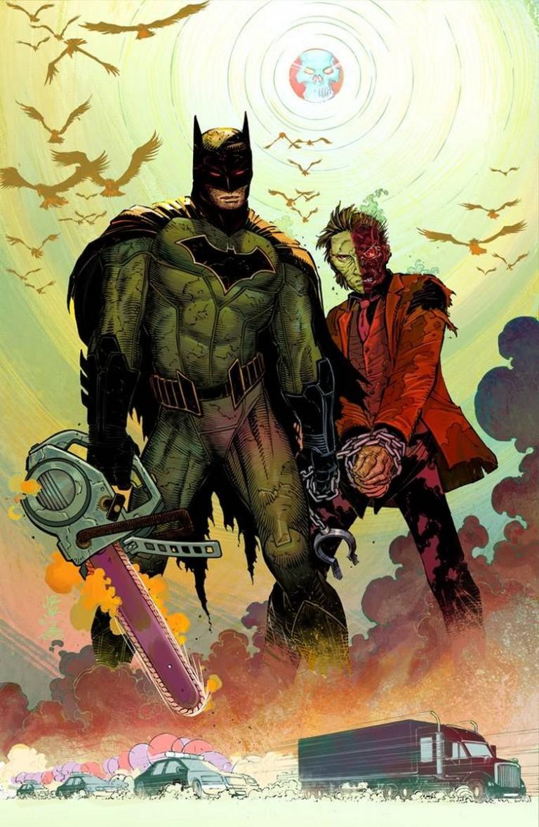 All-Star Batman #1 (Cover B John Romita Jr. & Danny Miki)