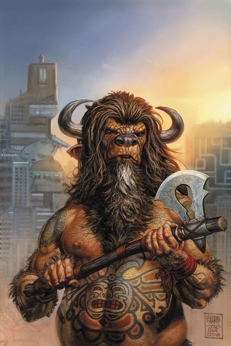 American Gods Shadows #1 (Cover A Glenn Fabry)