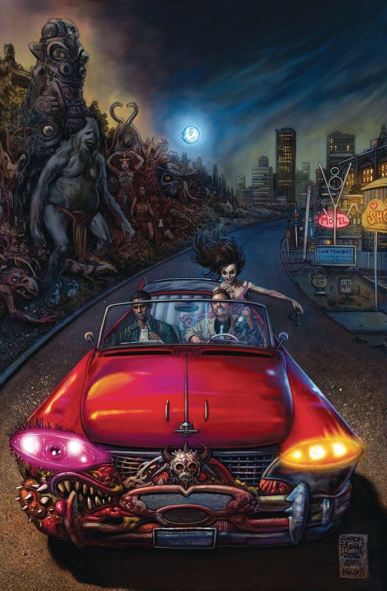 American Gods Shadows #4 (Cover A Glenn Fabry)